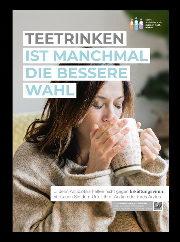 Plakat Antibiotika Kampagne