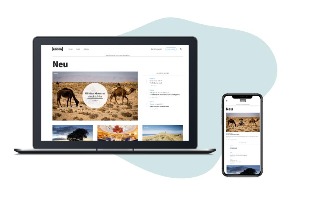 Abenteuer und Reisen | Website | Mediadaten | wdv