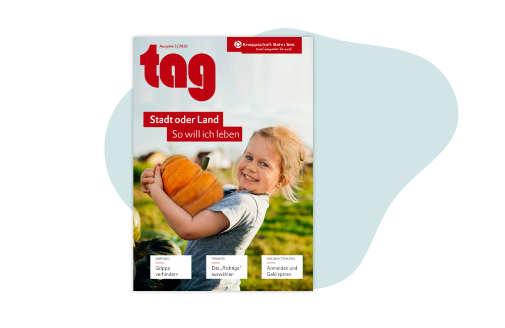 tag Magazin Mediadaten | Knappschaft Bahn See