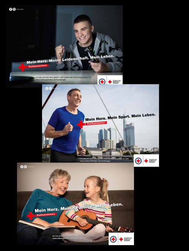 Kampagne Rotkreuz-Kliniken